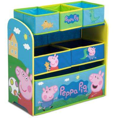 Peppa Pig Multi-Bin Toy Organizer