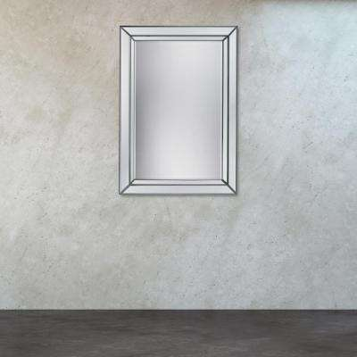 Arriba 39 in. x 28 in. Beveled Mirror