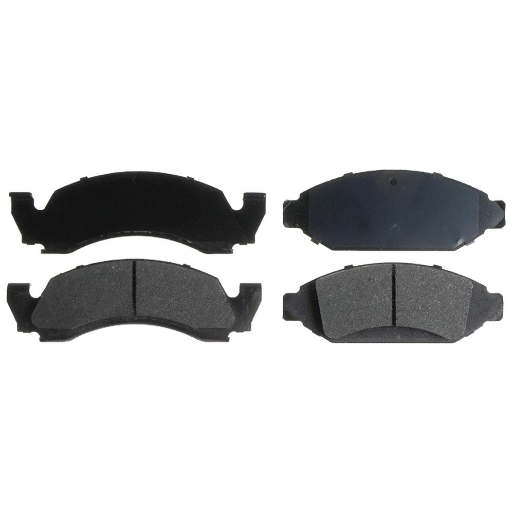For Ford F-150 Bronco E-150 Econoline Club Wagon Front  Ceramic Brake Pads