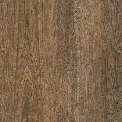 Dark Bark 18 in. Width x 18 in. Length Residential Peel and Stick Vinyl Tile