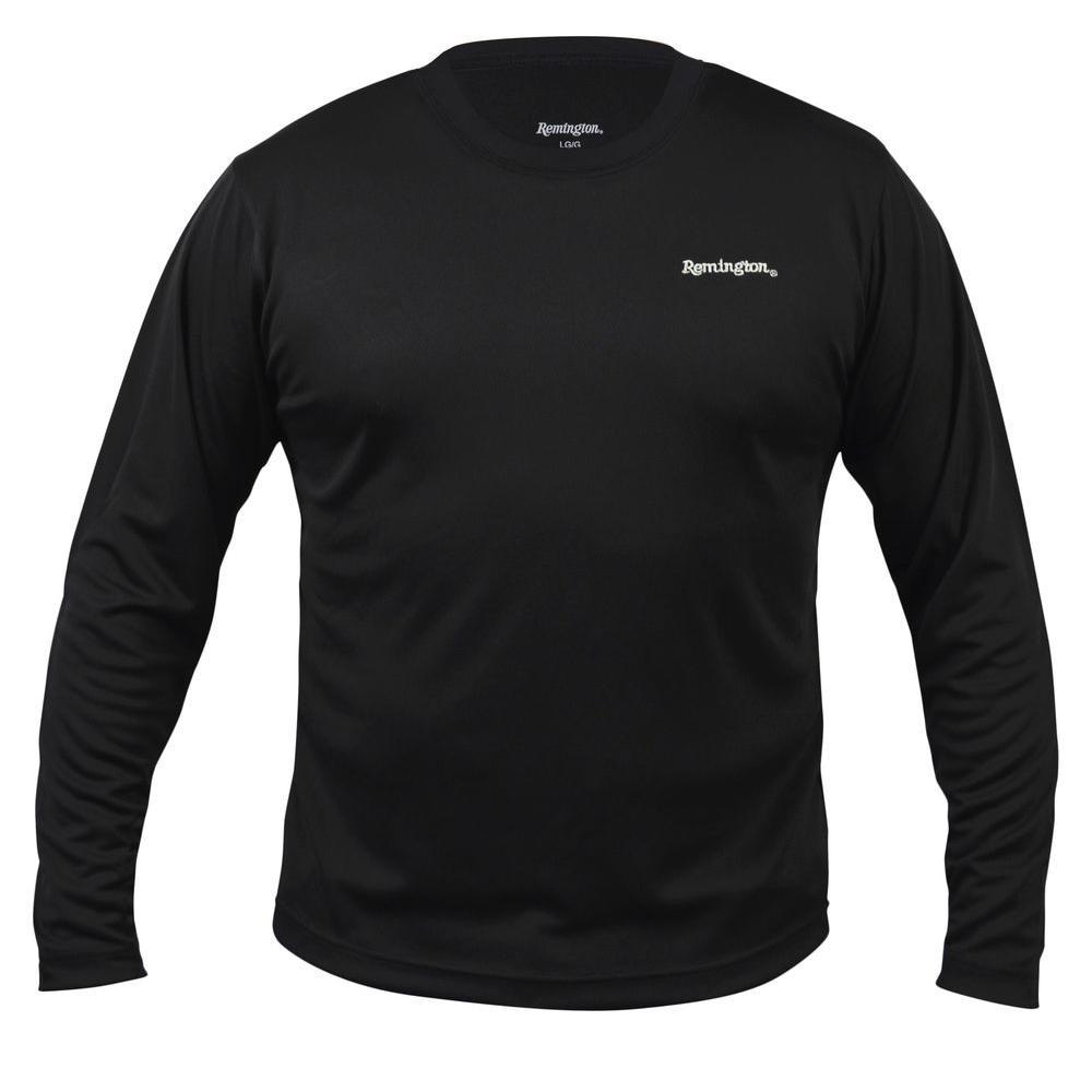 Remington Solid Long Sleeve Wicking Large T-Shirt-886-3405-01LG ...