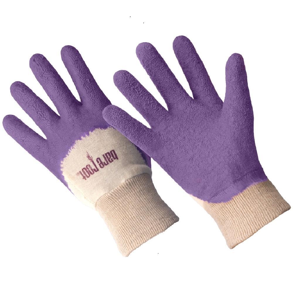 Ladies Premium Medium/Large Latex Coated Glove - Bellflower