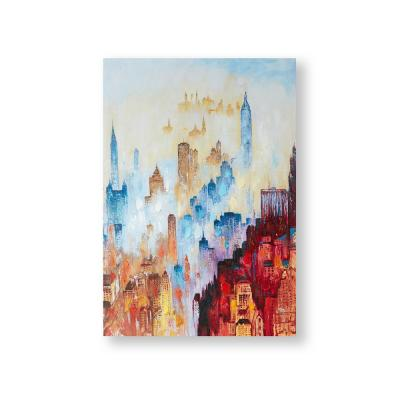City of Dreams Wrapped Canvas Wall Art