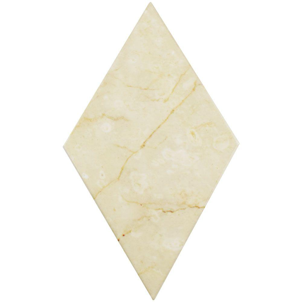 Somertile Merola Tile Aurea Flat Beige 6-3/4 in. x 11-3/4...