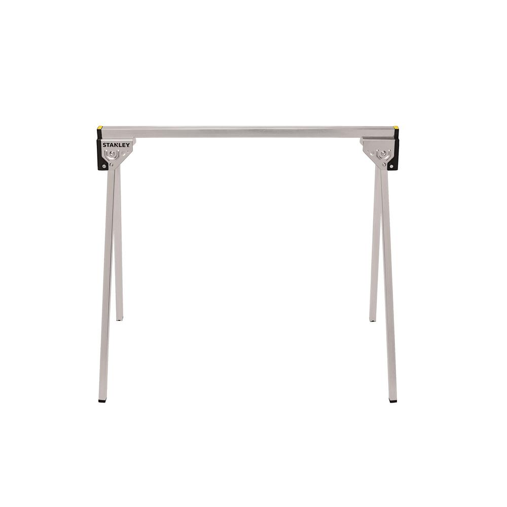 STANLEY 29 in. Folding Metal Sawhorse