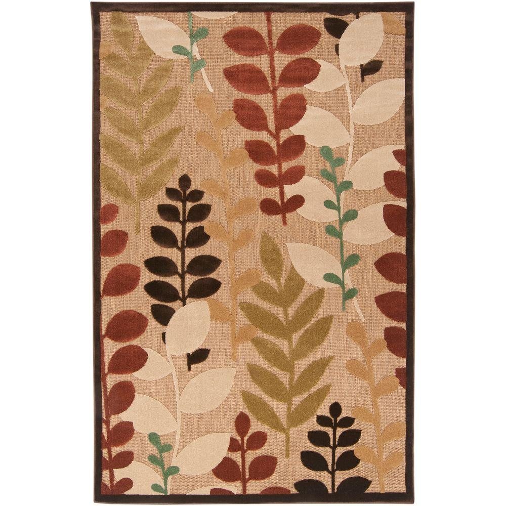 Irapuato Natural 8 ft. 8 in. x 12 ft. Area Rug