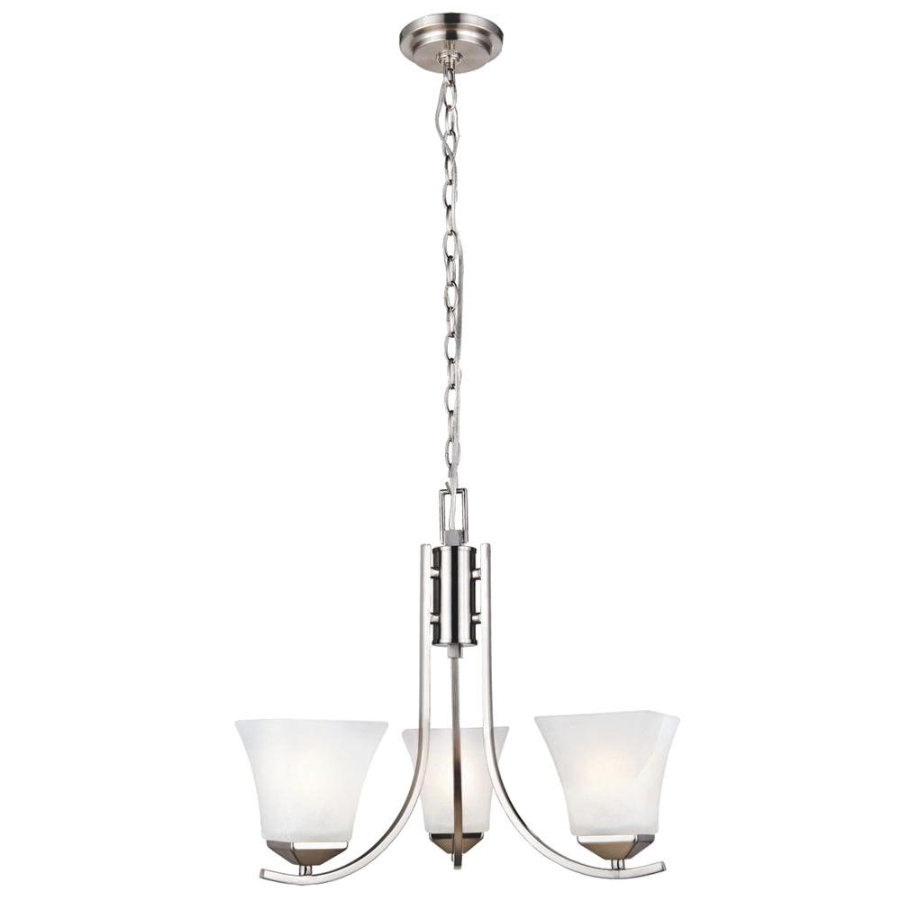 Design House Torino 3-Light Satin Nickel Chandelier on design house light fixtures, design house chairs, design house lighting products, design house vanities, design house fans,