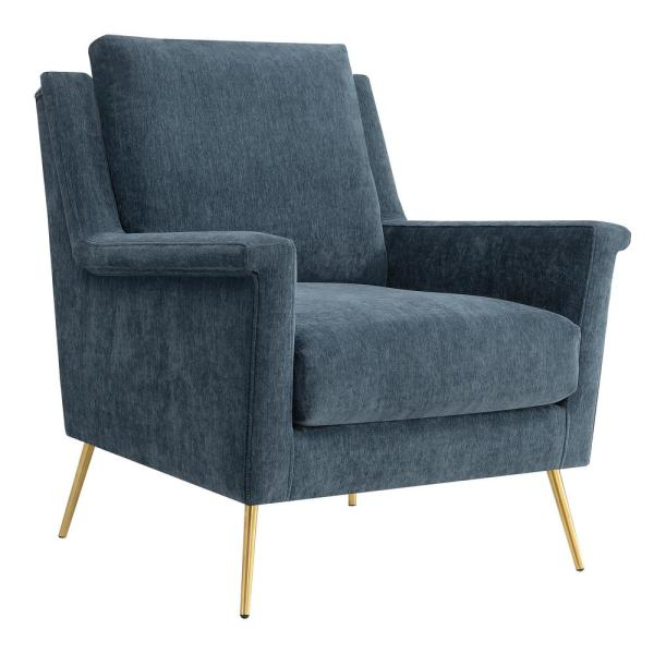 Lincoln Slate Accent Chair