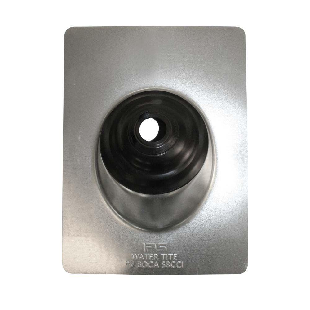 3 in. - 4 in. Adjustable Pipe Flashing with Aluminum Base