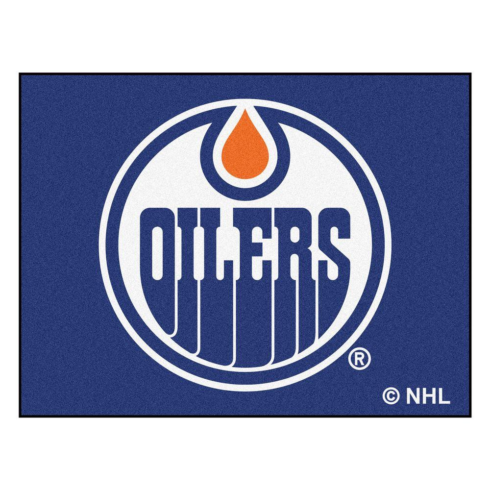 NHL Edmonton Oilers Blue 2 ft. 10 in. x 3 ft.