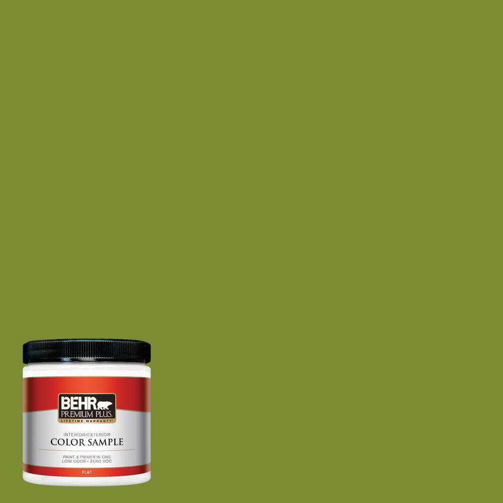 8 oz. #P360-7 Sassy Grass Interior/Exterior Paint Sample