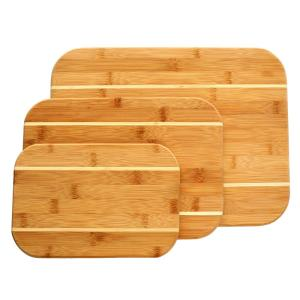 Gibson Home Dewport 3 Piece Bamboo Cutting Board Set 985101182M   The Home  Depot