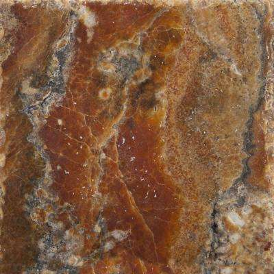 Trav Chiseled Onyx 8 in. x 8 in. Travertine Floor and Wall Tile