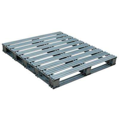 42 in. x 48 in. Galvanized Steel Pallet