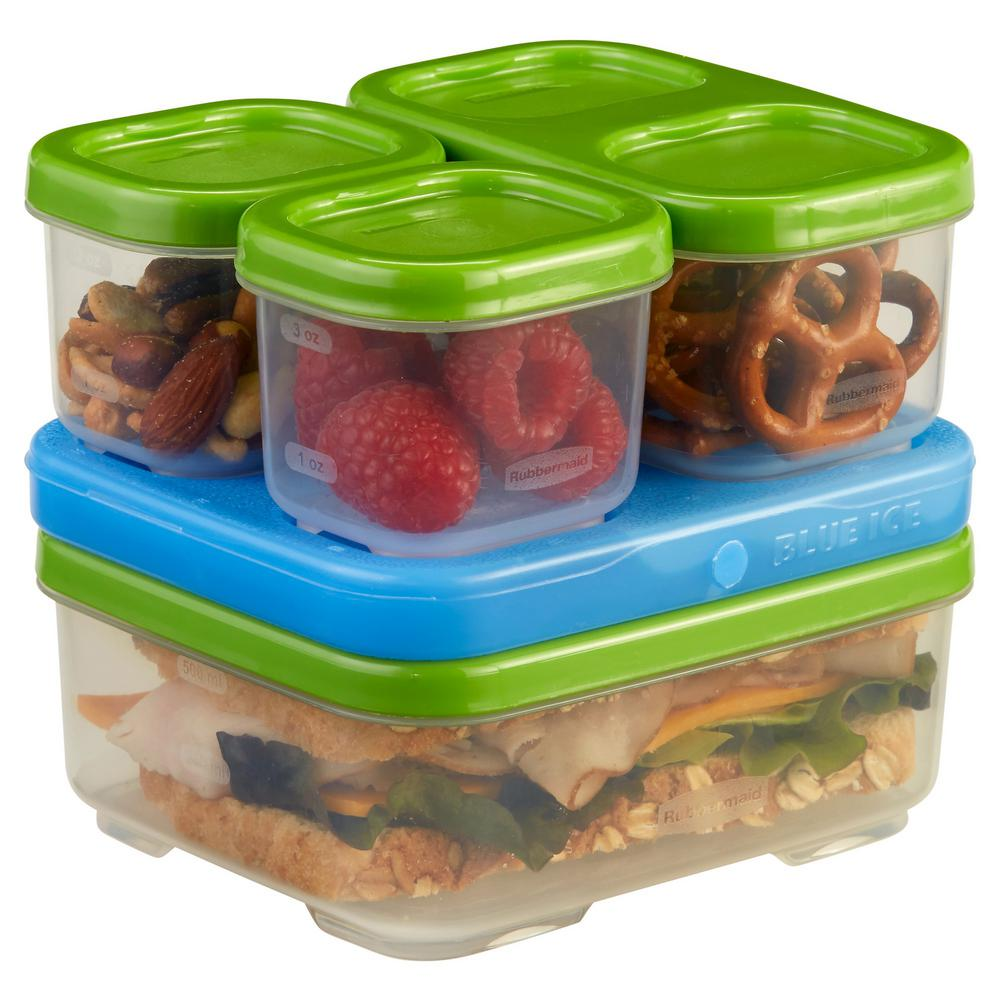 Rubbermaid Lunchblox 5 Piece Storage Container Sandwich