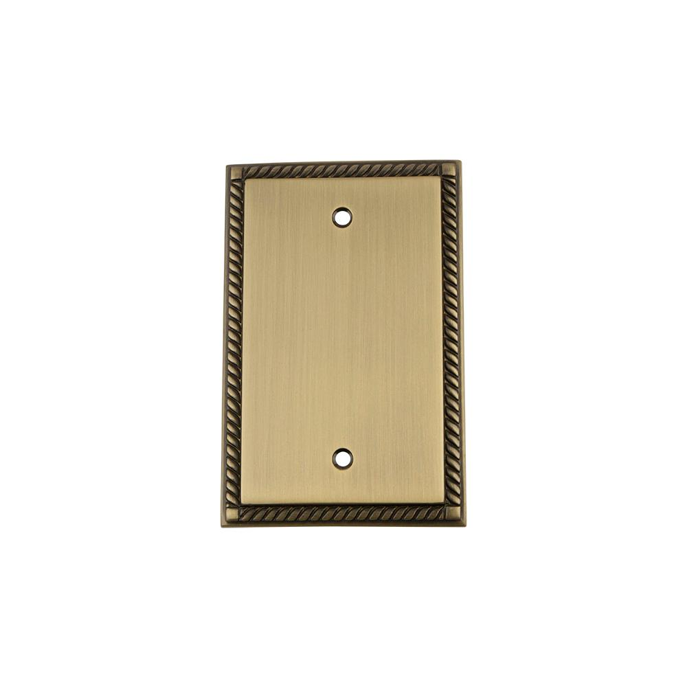 Bronze - Blank Wall Plates - Wall Plates - The Home Depot