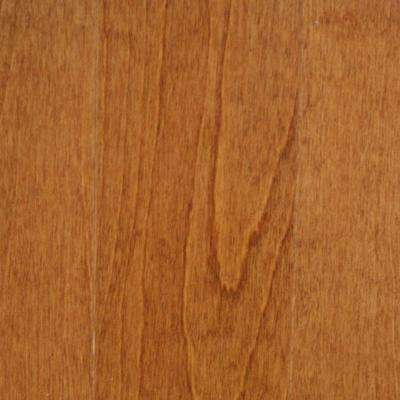 Take Home Sample - Birch Dark Gunstock Engineered Click Hardwood Flooring - 5 in. x 7 in.