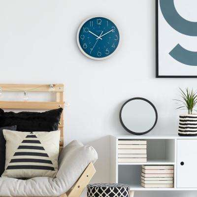 13 in. Weekender Quartz Analog Wall Clock