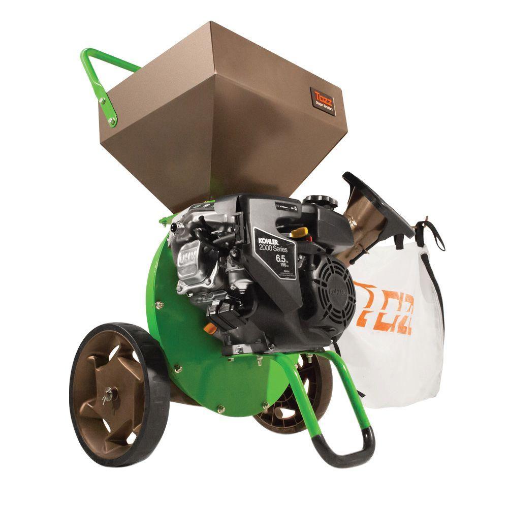 K52 3 in. Gas Powered 196cc Kohler Engine Chipper Shredder