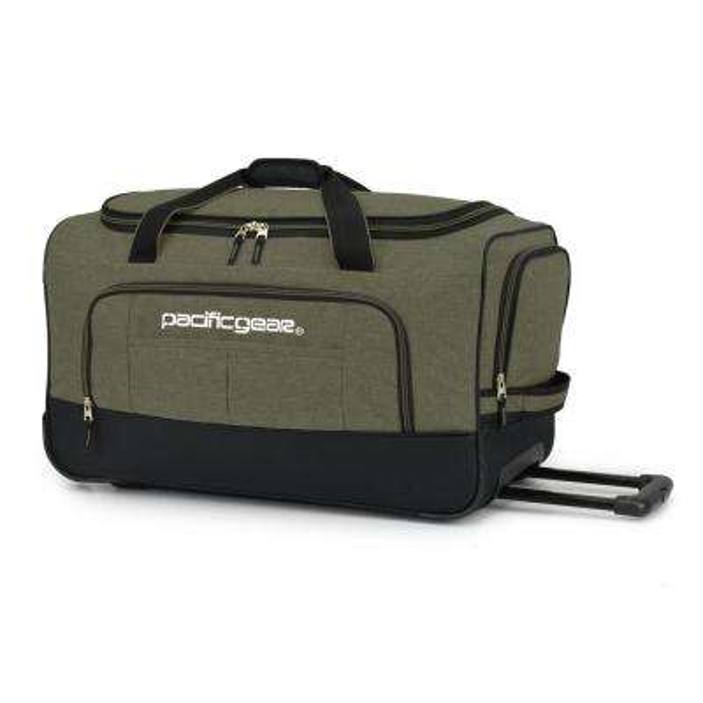 Keystone 25 in. Rolling Olive Duffel Bag