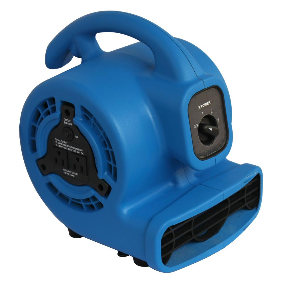 Xpower 600 Cfm 3 Speed Multi Purpose Mini Mighty Air Mover