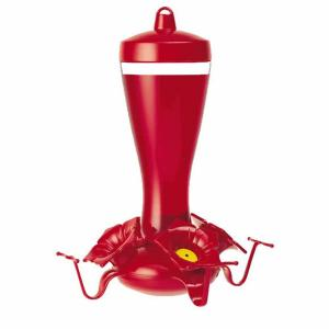Perky-Pet 10 oz. Hummingbird Glass Funnel Feeder by Perky-Pet