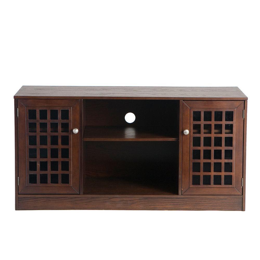 Home Decorators Collection Narita Espresso Media Stand