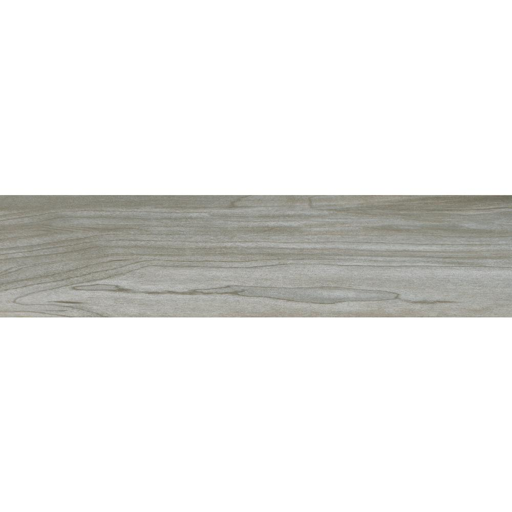 MSI Carolina Timber Grey 6 in. x 24 in. Glazed Ceramic Floor and ...