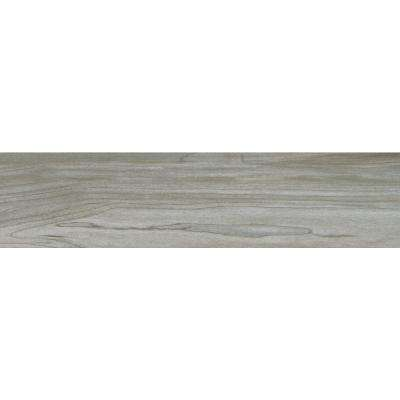Carolina Timber Grey 6 in. x 24 in. Glazed Ceramic Floor and Wall Tile (16 sq. ft. / case)
