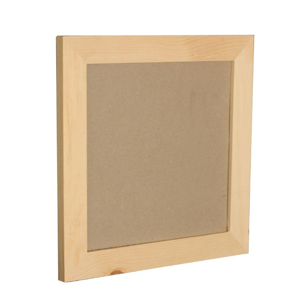 Crates & Pallet 12 in. x 12 in. Natural Pine Frame