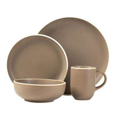 Tailor Suede 16-Piece Dinnerware Set