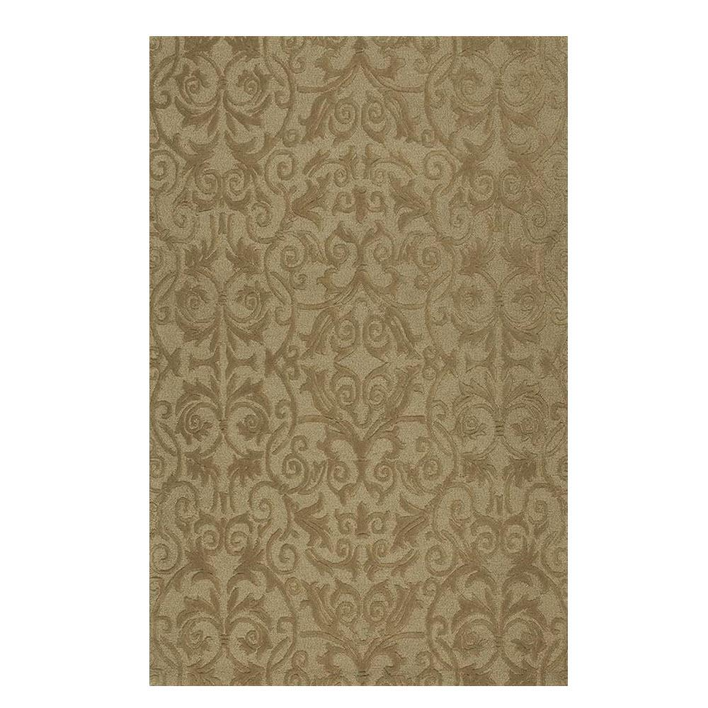 Home Decorators Collection Bella Taupe 8 Ft X 11 Ft Area Rug 9433330860 The Home Depot