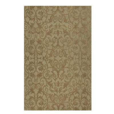 Bella Taupe 8 ft. x 11 ft. Area Rug