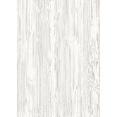 Faux Materials White Washed Wood Wall Adhesive Film (Set of 2)