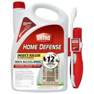 Home Defense Max 1 33 Gal Perimeter And Indoor Insect With Wand