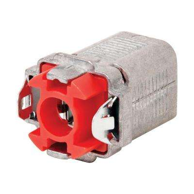 Double Snap 3/8 in. MC/AC/BX Box Connector (50-Pack)