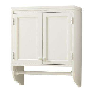 W Laundry Storage Wall Mounted Cabinet With