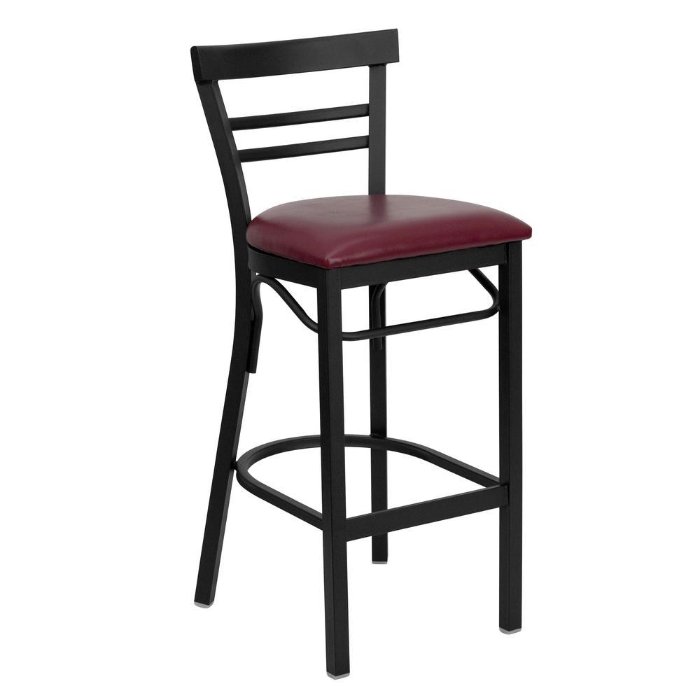 Flash Furniture Hercules Series 31 In Red Bar Stool