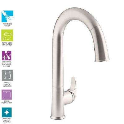 Touchless Kohler Kitchen Faucets Kitchen The Home Depot