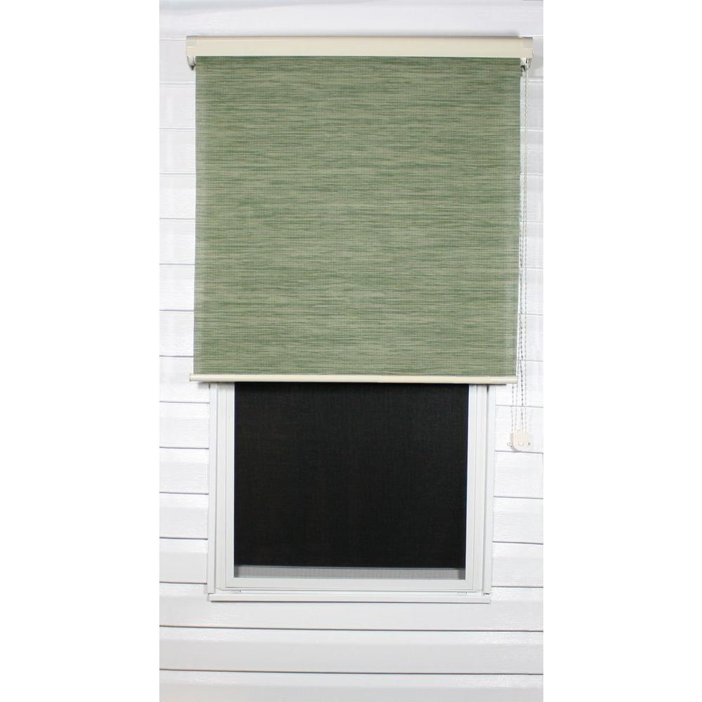 Coolaroo Spring Sage Exterior Roller Shade, 92% UV Block (Price Varies by Size)