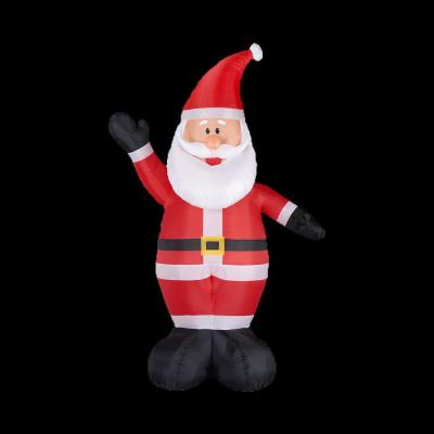 Extra Large Christmas Inflatables Outdoor Christmas Decorations The Home Depot