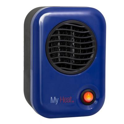 My Heat 200-Watt Electric Portable Personal Space Heater, Blue