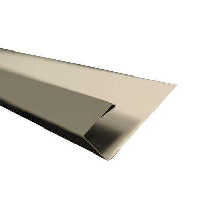 2 in. x 10.5 ft. J-Channel Drip Edge Flashing in Charcoal