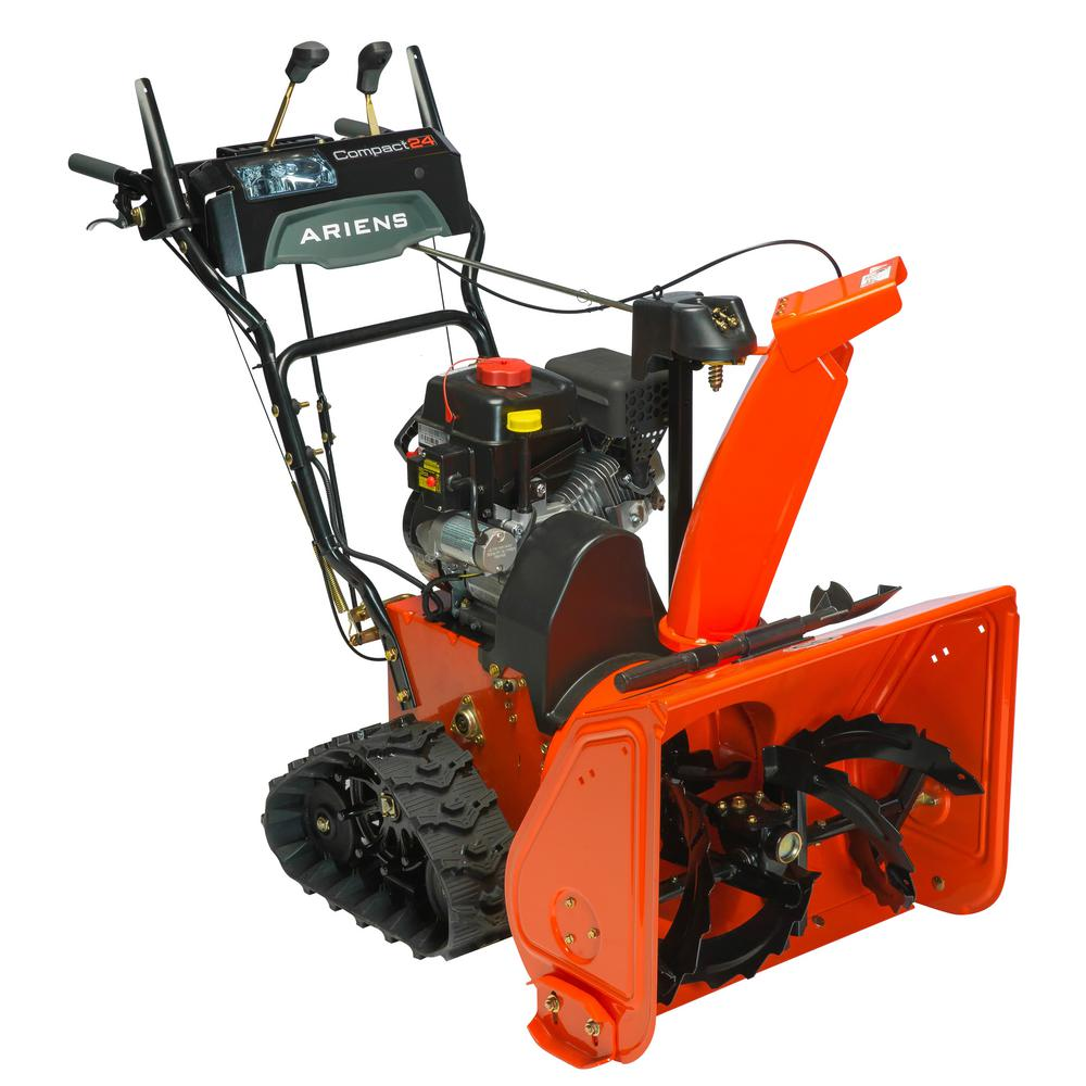 2-Stage Electric Start Gas Snow Blower