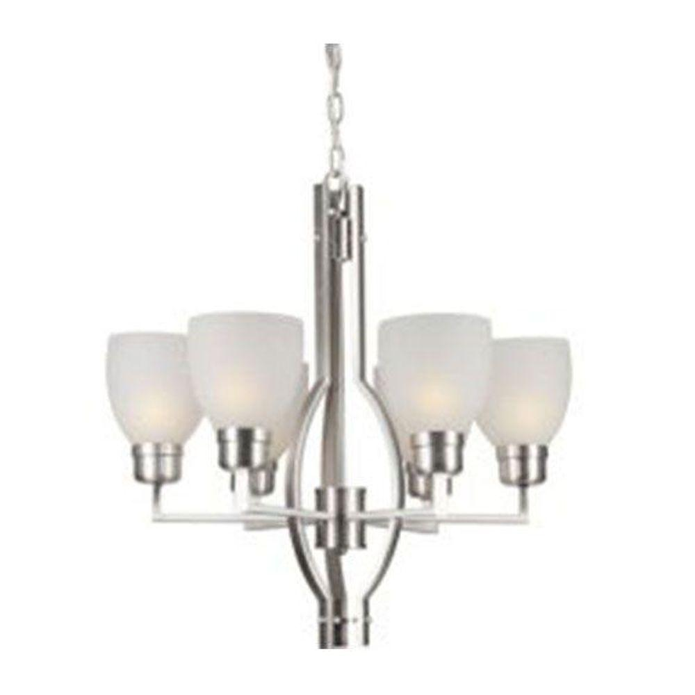 Talista Burton 6-Light Brushed Nickel Incandescent Chandelier