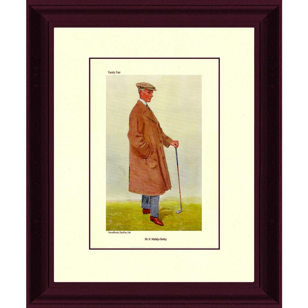 14.5.in x 20.in''H. Malaby Deeley'' By PTM Images Framed Printed