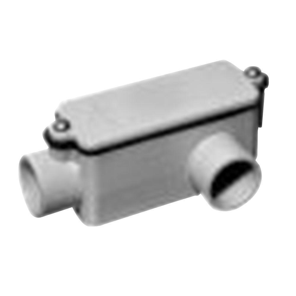 1/2 in. PVC Type LL Conduit Body (Case of 8)