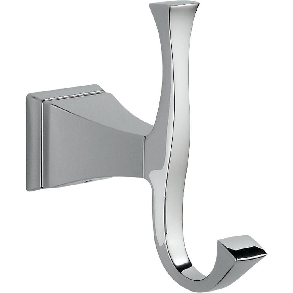 Delta Dryden Single Robe Hook in Chrome