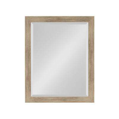 Beatrice Rectangle Rustic Brown Mirror