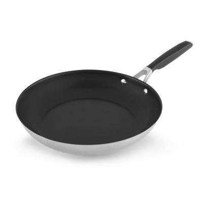 Select 12 in. Stainless Steel Nonstick Fry Pan